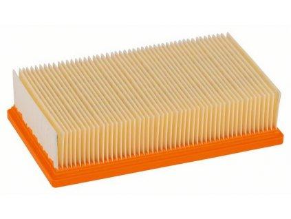 Skládaný plochý filtr pro vysavač Bosch GAS 35, GAS 55  - standardní celulózový